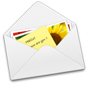 Email file of IMM format of IncrediMail