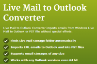 GlexSoft offers the best Live Mail to Outlook migration product