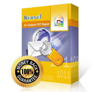 Kernel PST recovery tool